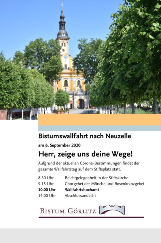 Poster Bistumswallfahrt 2020