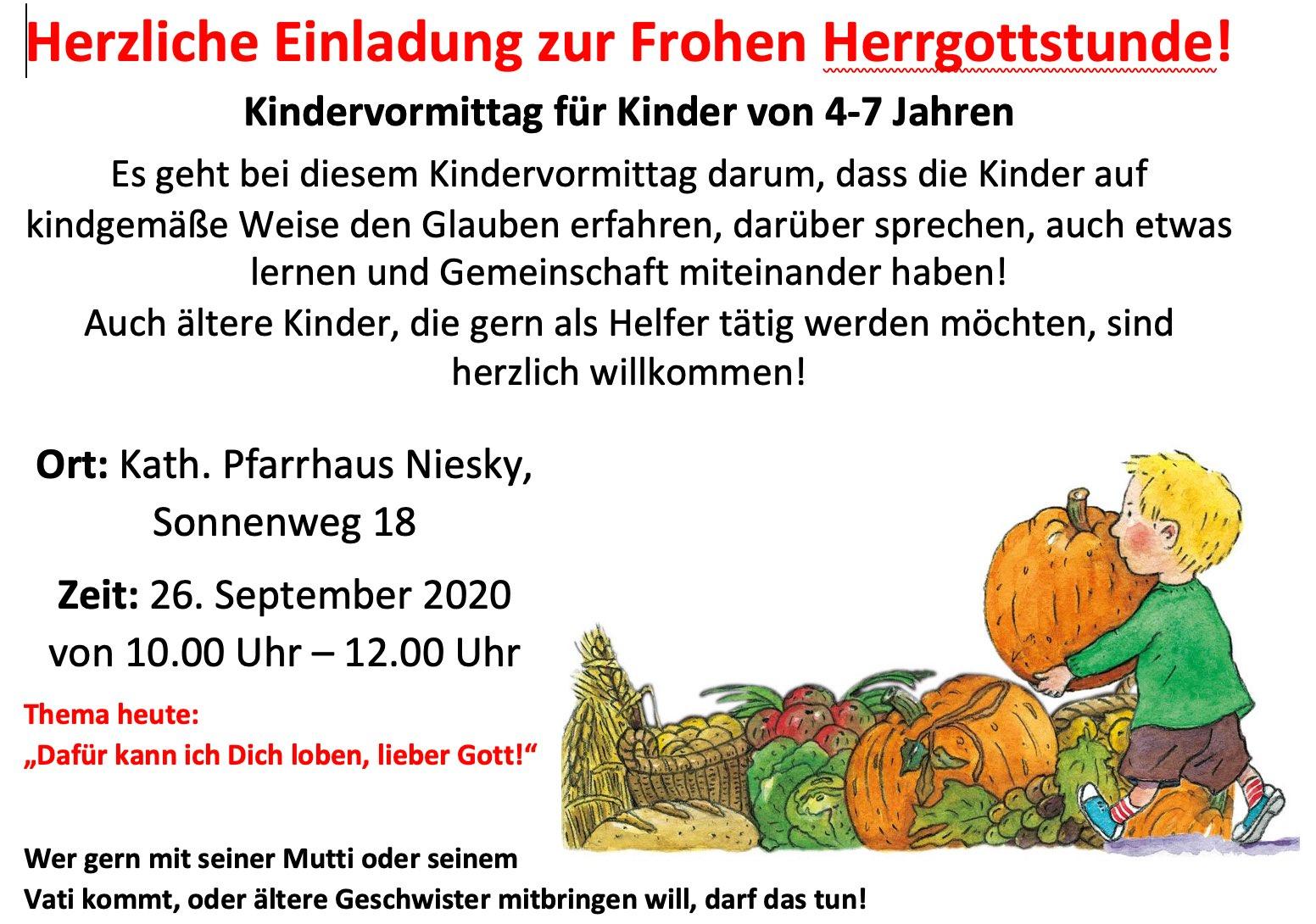 Kindervormittag 2020-09-26