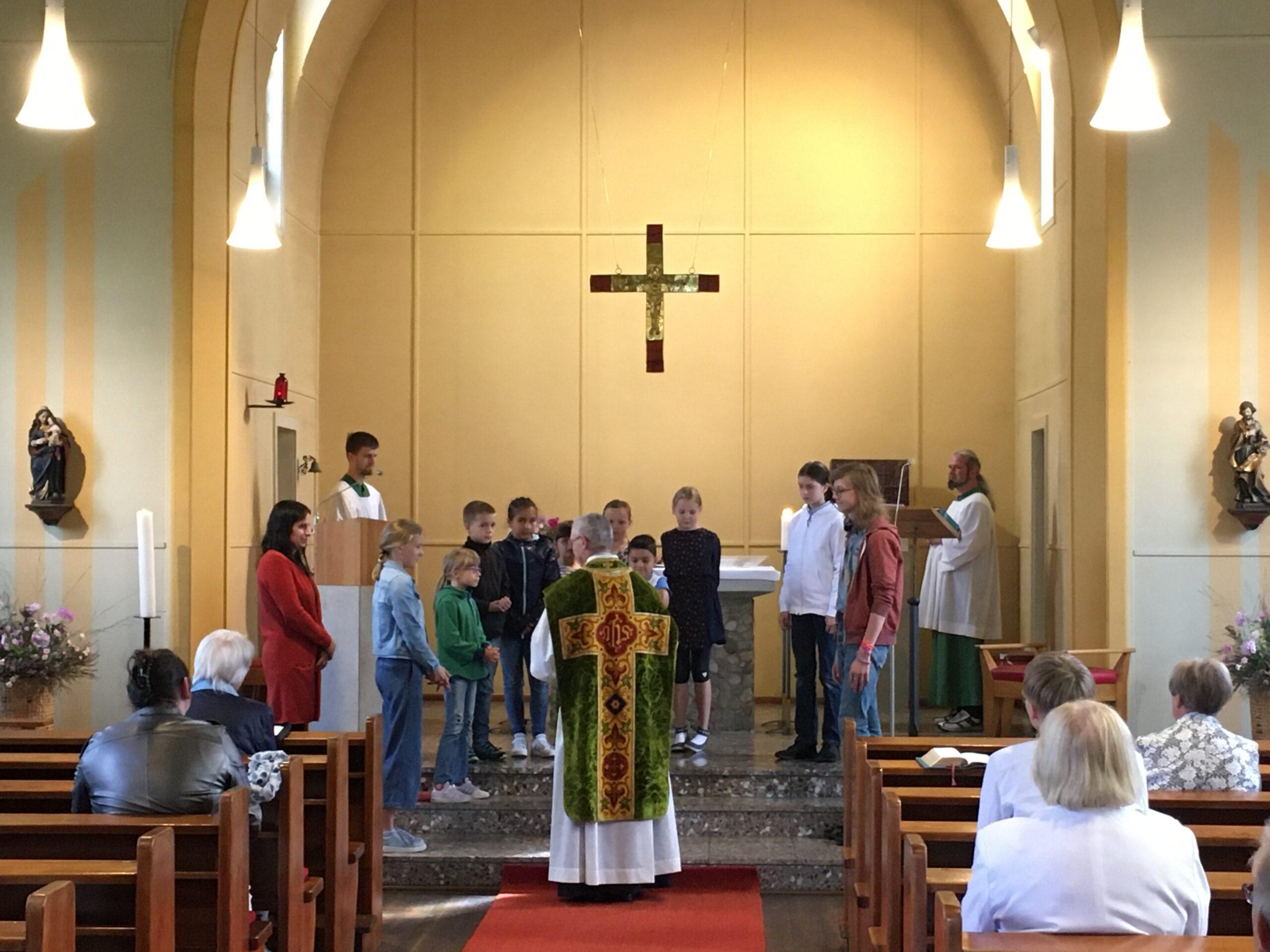 Segnung der Schüler und Schulanfänger 06.09.2020