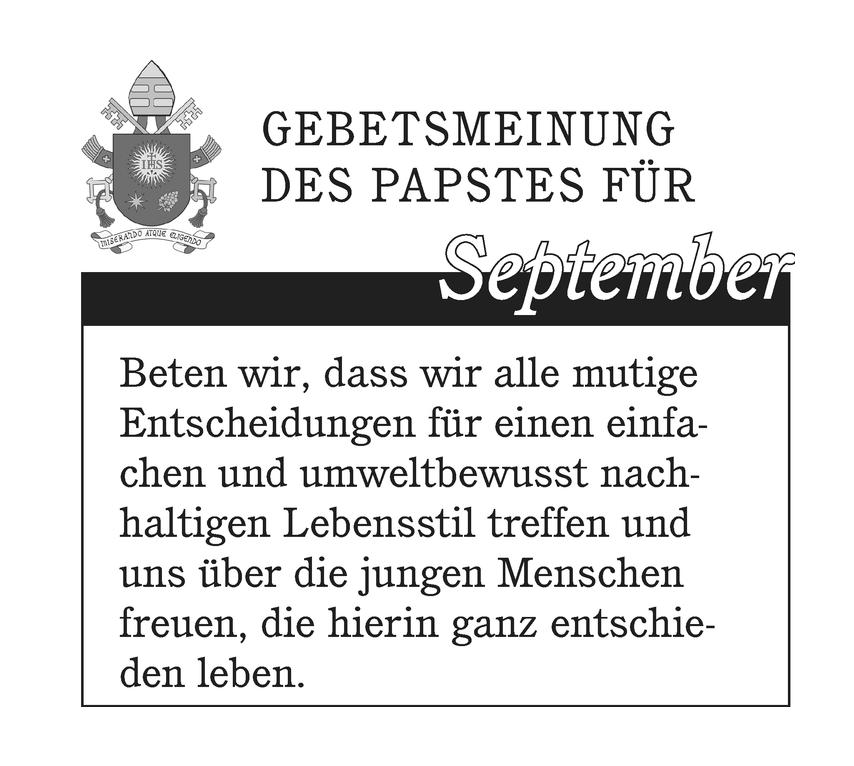 Gebetsmeinung 2021-09